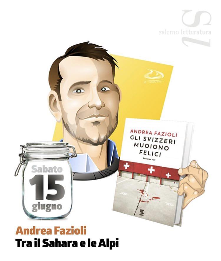 Salerno Letteratura: Andrea Fazioli